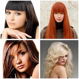 Брюнетки, блондинки, рыжие, каштановые…