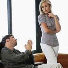 Как попросить прощения у девушки?